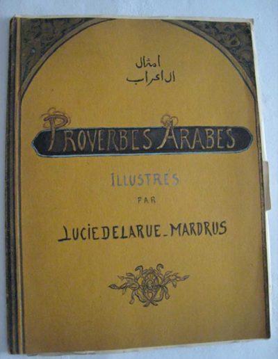 """Couverture d'ouvrage """"Proverbes arabes"""" illustrés"""