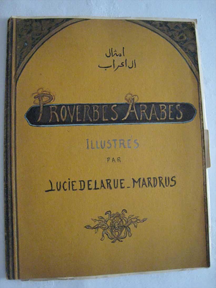 Couverture d'ouvrage proverbes arabes