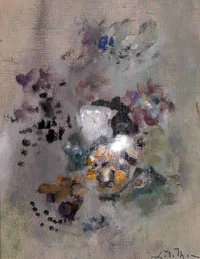 peinture florale 1