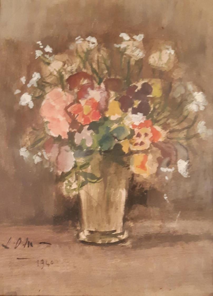 peinture florale ldm